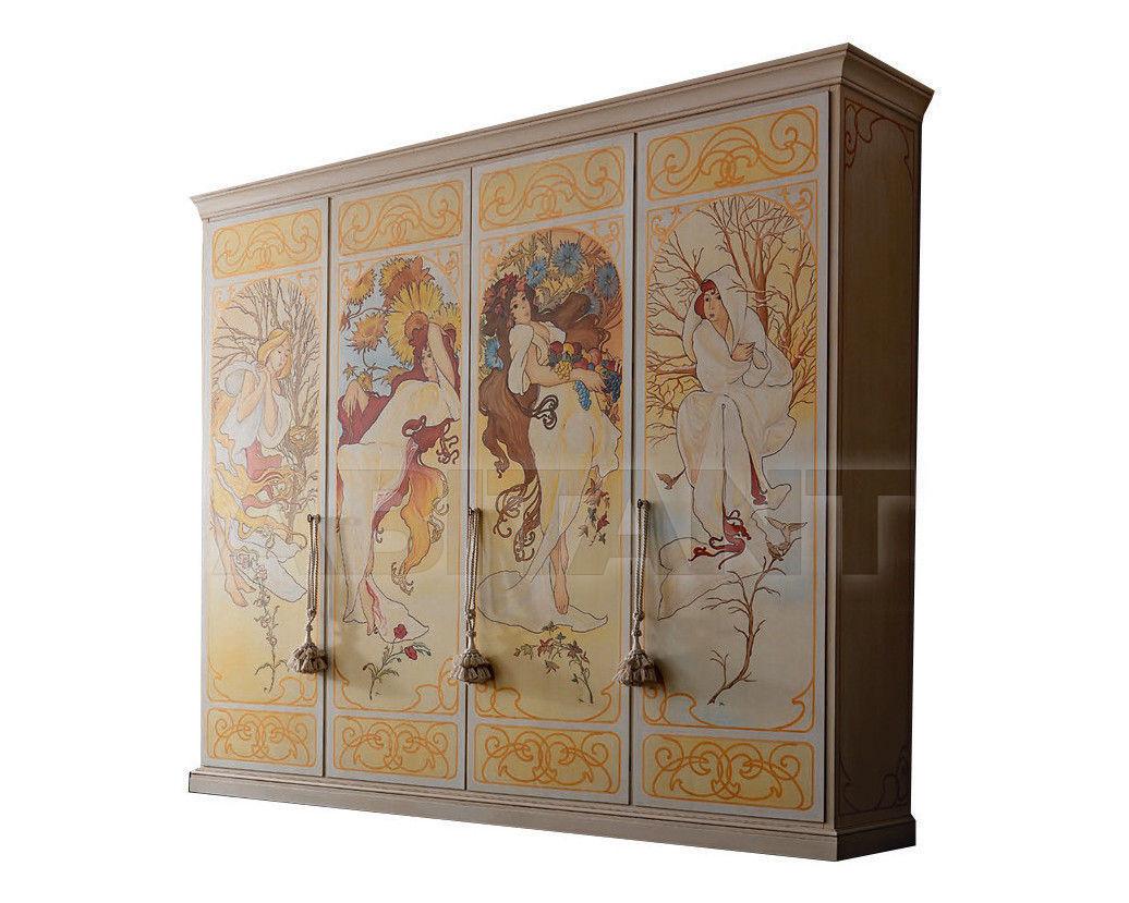 Купить Шкаф гардеробный Borgo Pitti Collezione Di Sogni BP 104 Affresco Liberty