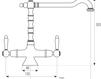Смеситель для кухни Giulini Cucina 7251 Современный / Скандинавский / Модерн