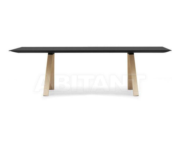 Купить Стол обеденный Pedrali Fixed Tables ARK240X100 black