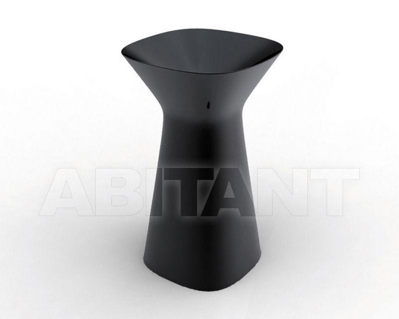 Купить Раковина напольная Hidra Ceramica S.r.l. Mister MR 15 NERO LUCIDO