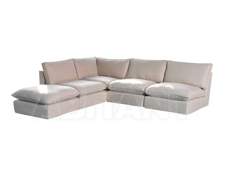 Купить Диван Home Spirit Gold MALDIVES II 3 * Armless chair + Angle + Footstool