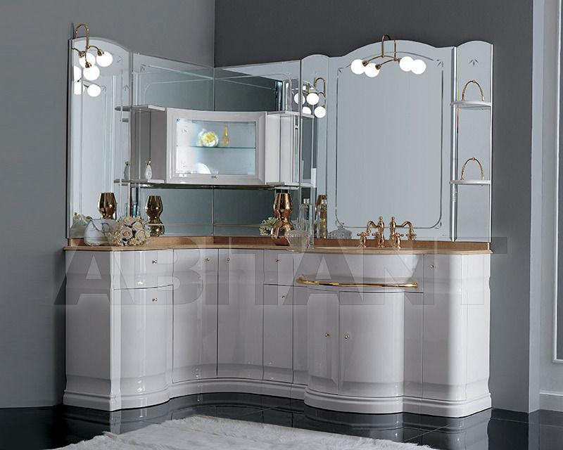 Купить Композиция Eurodesign Bagno Hilton COMP. 3 Bianco/oro