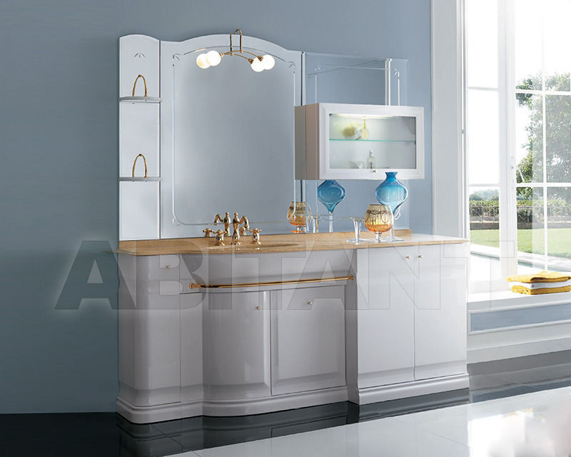 Купить Композиция Eurodesign Bagno Hilton COMP. 10 Bianco/oro