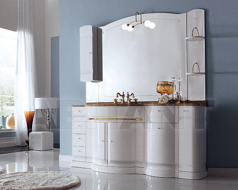 Купить Композиция Eurodesign Bagno Hilton COMP. 13 Bianco/oro