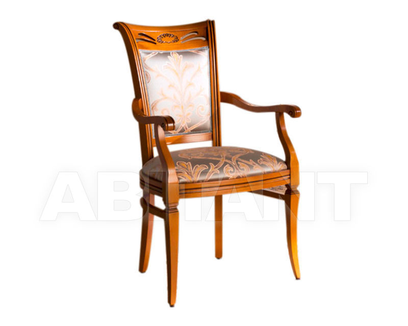 Купить Стул с подлокотниками BS Chairs S.r.l. Tiziano 3311/A