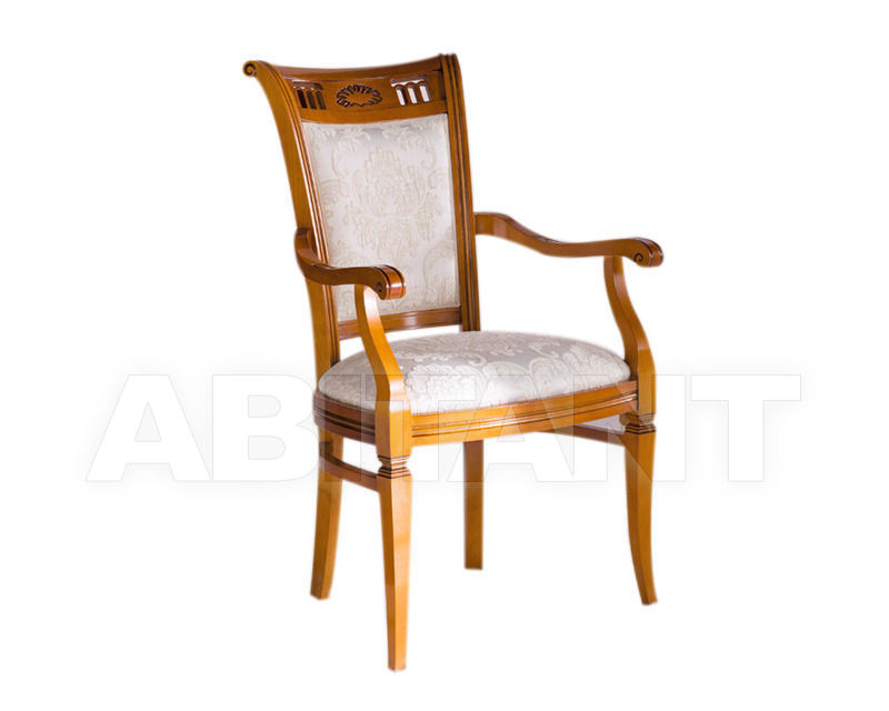 Купить Стул с подлокотниками BS Chairs S.r.l. Tiziano 3312/A
