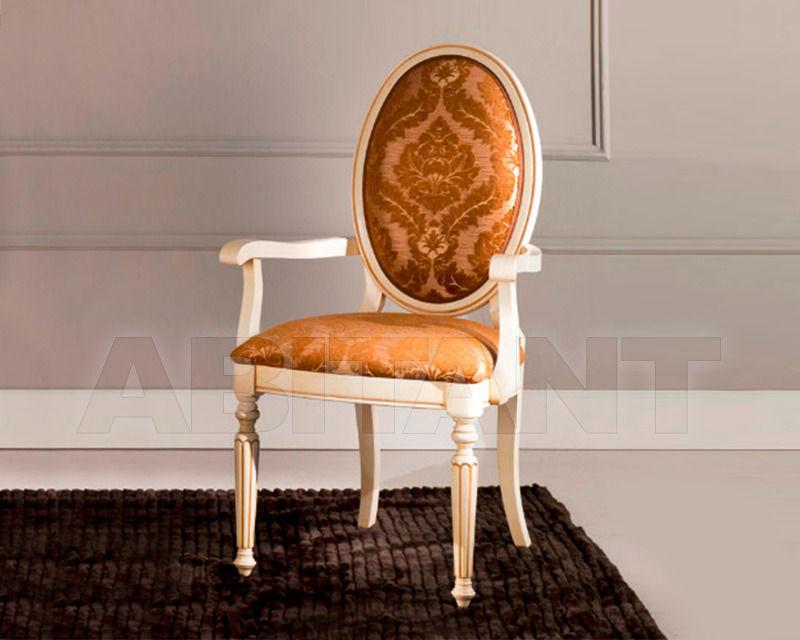 Купить Стул с подлокотниками BS Chairs S.r.l. Tiziano 3305/A