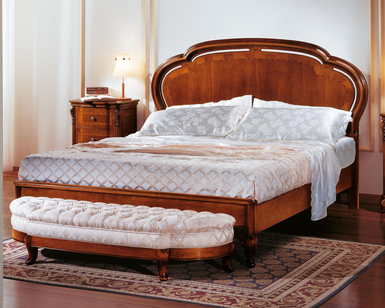 Купить Кровать AURORA Notte Boghi Arredamenti 2011-2012 292 Letto con testata in legno + pediera