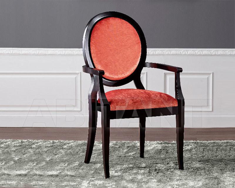 Купить Стул с подлокотниками BS Chairs S.r.l. Tiziano 3355/A
