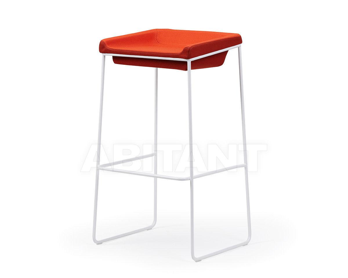 Купить Барный стул TONIC METAL Rossin Srl Contract TON0-00-048-2 red