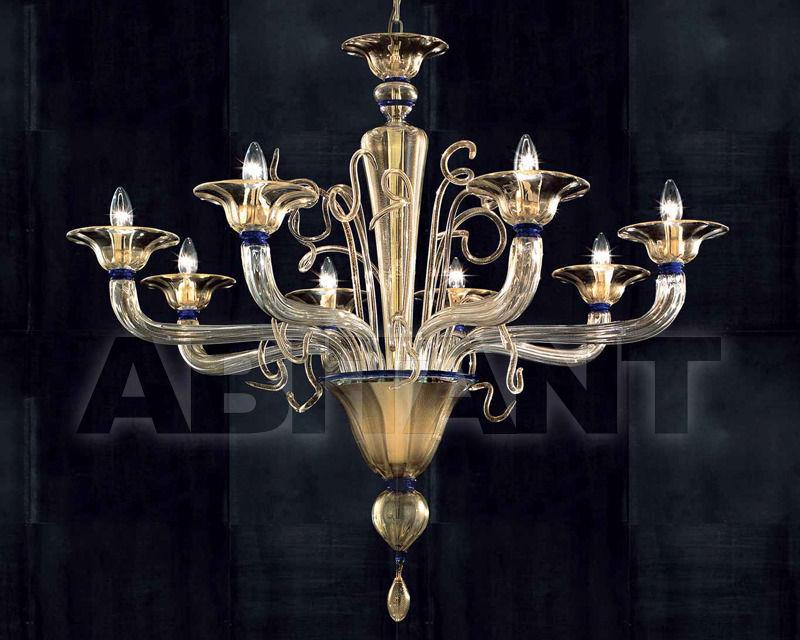 Купить Люстра Lavai lavorazione vetri artistici di Giuliano Statua & C. 2007 7060/8