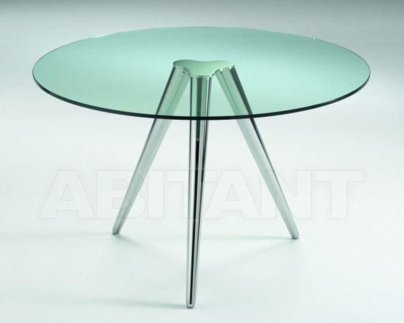 Купить Стол обеденный Tonelli Design Srl News Unity GAMBE CROMATE 2