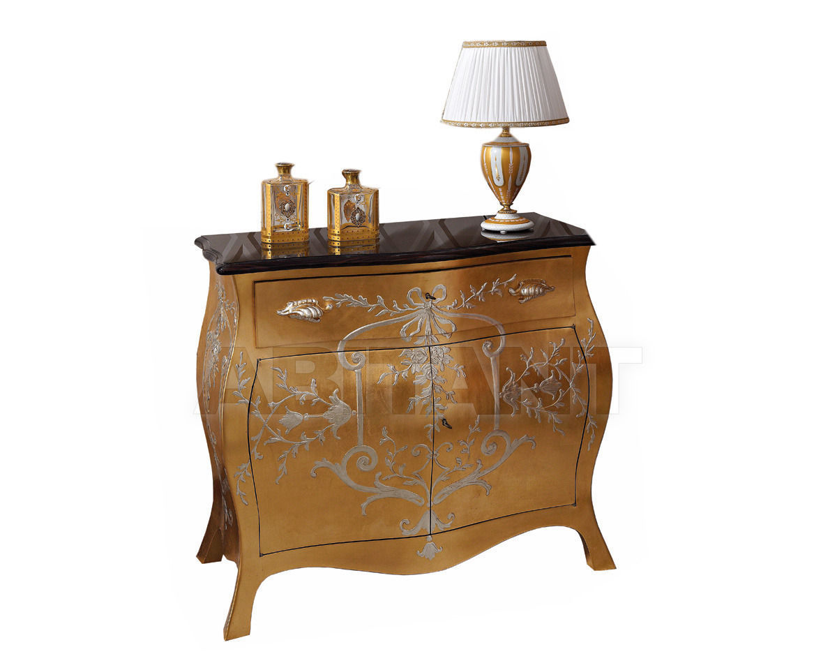 Купить Комод Veneto Patina by Codital srl Exquisite Furniture C05 ST / CA gold