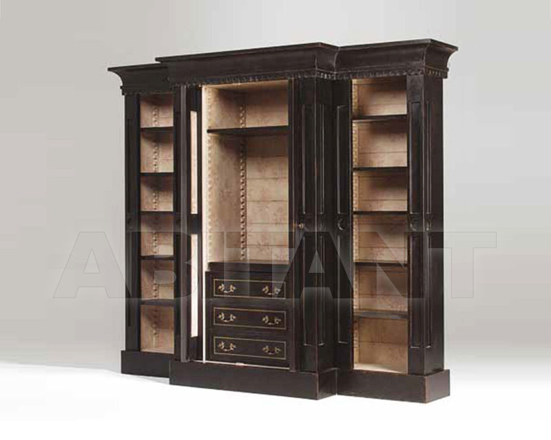 Купить Библиотека Bronzino Wall Unit Patina by Codital srl Exquisite Furniture C53 ST / DW