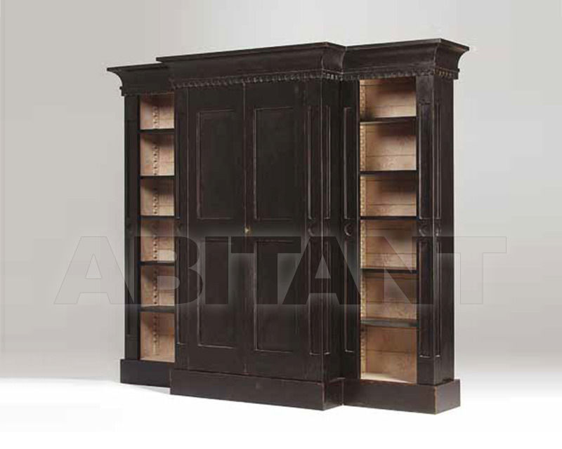 Купить Библиотека Bronzino Wall Unit Patina by Codital srl Exquisite Furniture C53 ST / SH