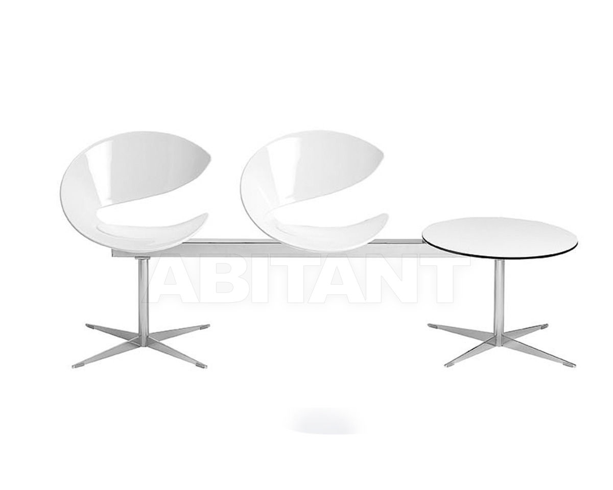 Купить Кресла для залов ожидания Midj Sedie Twist PA2T-H