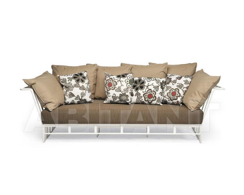 Купить Диван для террасы Hamptons Graphics Roberti Rattan Greenfield 9732 2