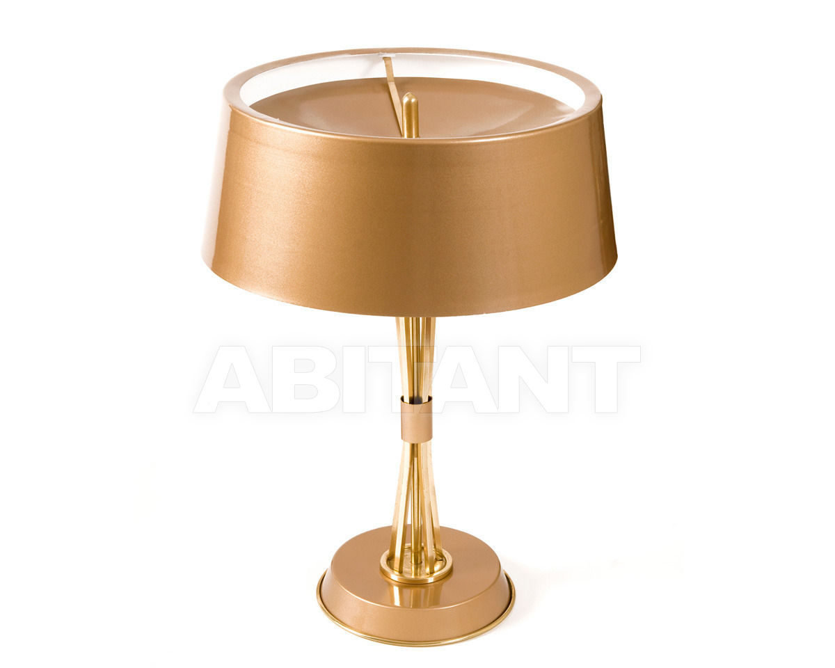 Купить Лампа настольная Delightfull by Covet Lounge Table MILES TABLE gold