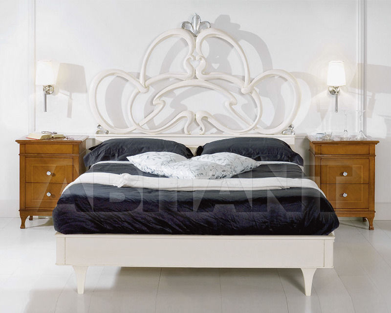Купить Кровать 2 Elle snc di Lenzi P. e P.  Dolci Songi Anthea Versione patinato e foglia argento