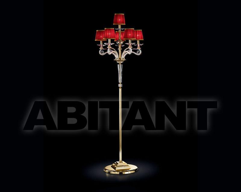 Купить Торшер Renzo del Ventisette & C. S.A.S Contemporanea 14330/5+1 CP