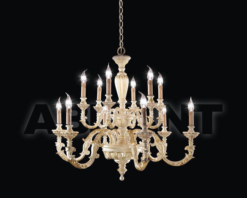 Купить Люстра Renzo del Ventisette & C. S.A.S Legno L 14299/6+6