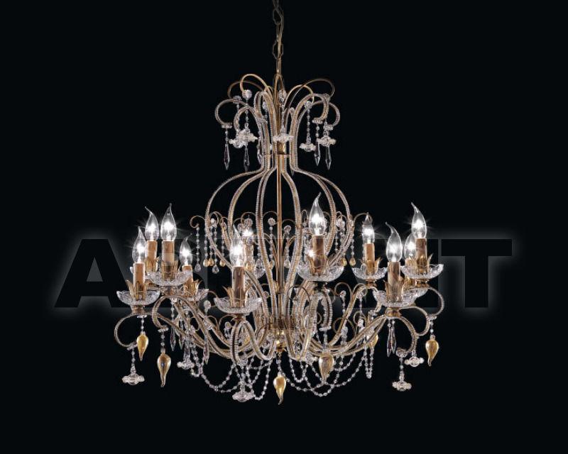 Купить Люстра Renzo del Ventisette & C. S.A.S Legno L 14202/12
