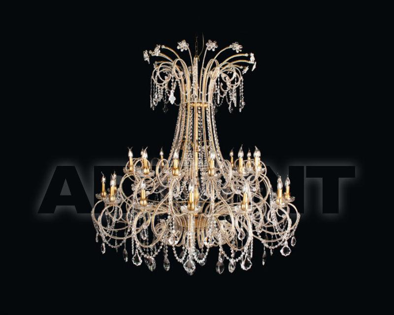 Купить Люстра Renzo del Ventisette & C. S.A.S Cristalli 14376/14+14