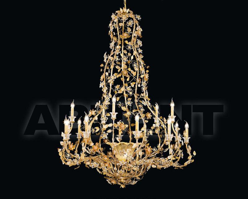 Купить Люстра Renzo del Ventisette & C. S.A.S Fusioni Di Bronzo L 13898/15+1
