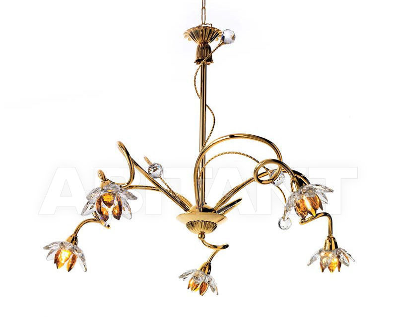 Купить Люстра Ciciriello Lampadari s.r.l. Lighting Collection 2012 oro lampadario 5 luci
