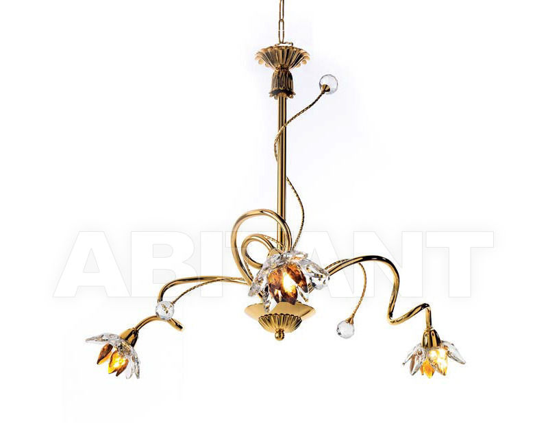 Купить Люстра Ciciriello Lampadari s.r.l. Lighting Collection 2012 oro lampadario 3 luci