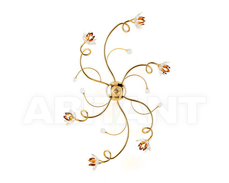 Купить Люстра Ciciriello Lampadari s.r.l. Lighting Collection 2012 oro plafoniera 6 luci