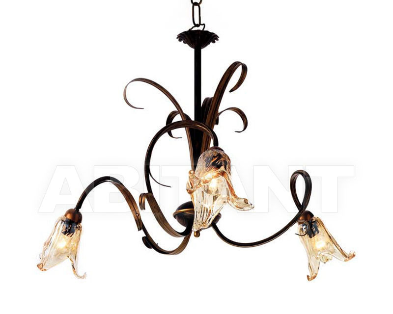 Купить Люстра Ciciriello Lampadari s.r.l. Lighting Collection PESARO lampadario 3 luci