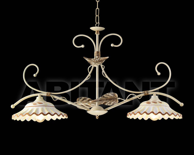 Купить Люстра Ciciriello Lampadari s.r.l. Lighting Collection 2008 avorio sospensione 2 luci