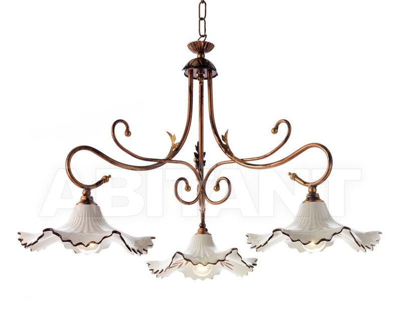 Купить Люстра Ciciriello Lampadari s.r.l. Lighting Collection 2007 sospensione 3 luci