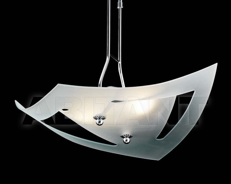 Купить Светильник Ciciriello Lampadari s.r.l. Lighting Collection 316 2 fori sabb. sospensione bianca