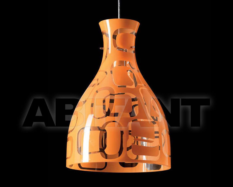 Купить Светильник Ciciriello Lampadari s.r.l. Lighting Collection IMBUTO 35 sospensione dm.35 arancio