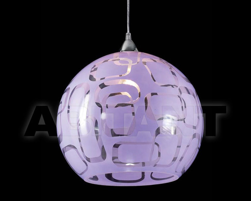 Купить Светильник Ciciriello Lampadari s.r.l. Lighting Collection SFERA 35 sospensione dm.35 glicine