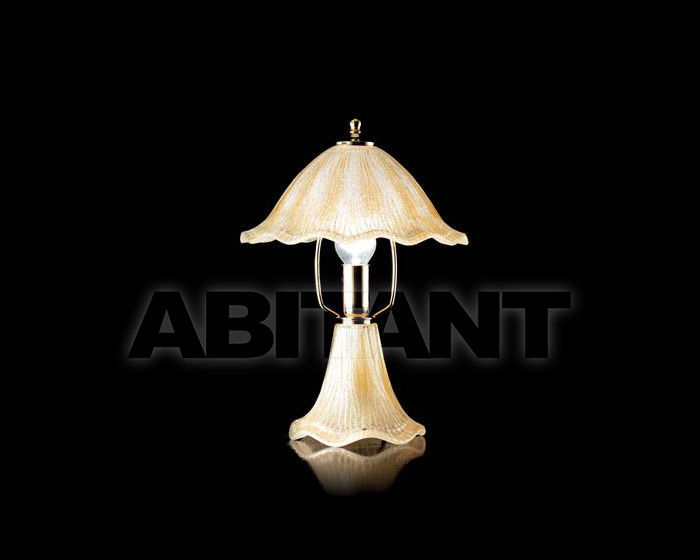 Купить Лампа настольная Ciciriello Lampadari s.r.l. Lighting Collection 635 ambra lume piccolo
