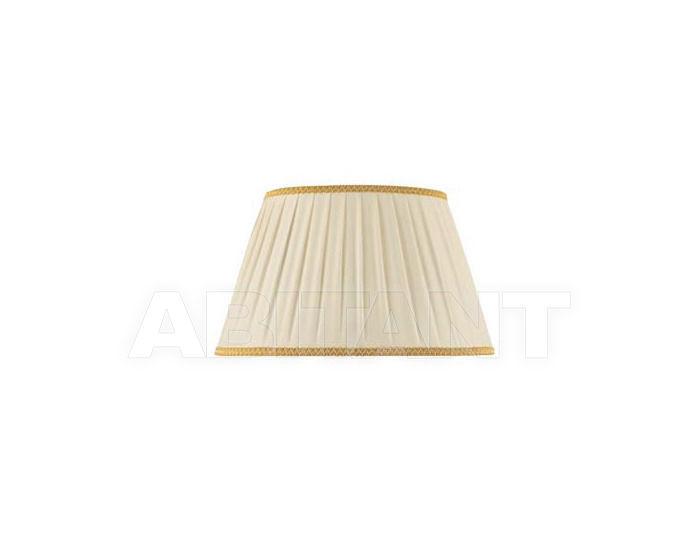 Купить Абажур Ciciriello Lampadari s.r.l. Lighting Collection 3047 ovale plissé AVORIO/ORO 30