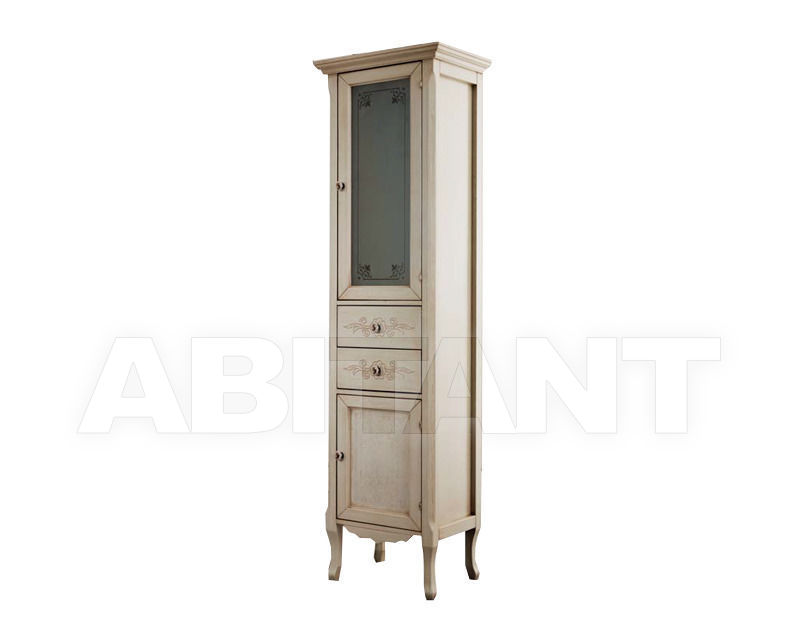 Купить Шкаф для ванной комнаты Ciciriello Lampadari s.r.l. Bathrooms Collection Vetrina Katia 30 avorio
