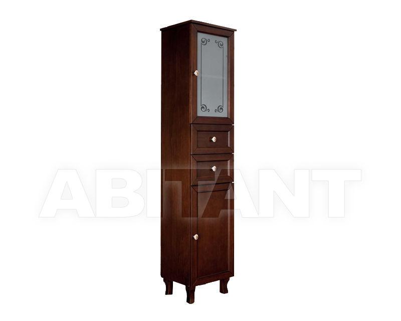 Купить Шкаф для ванной комнаты Ciciriello Lampadari s.r.l. Bathrooms Collection Colonna A30 noce