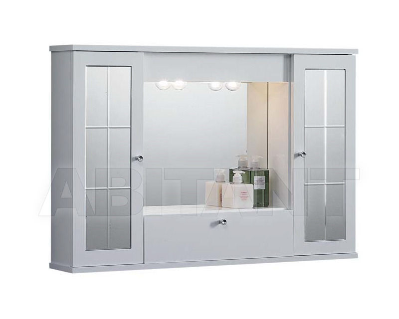Купить Шкаф для ванной комнаты Ciciriello Lampadari s.r.l. Bathrooms Collection MERCURIO 01 da 80cm