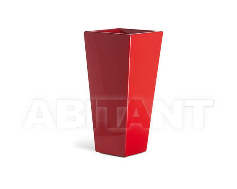 Купить Кашпо Slide Pots SD PIR090 red