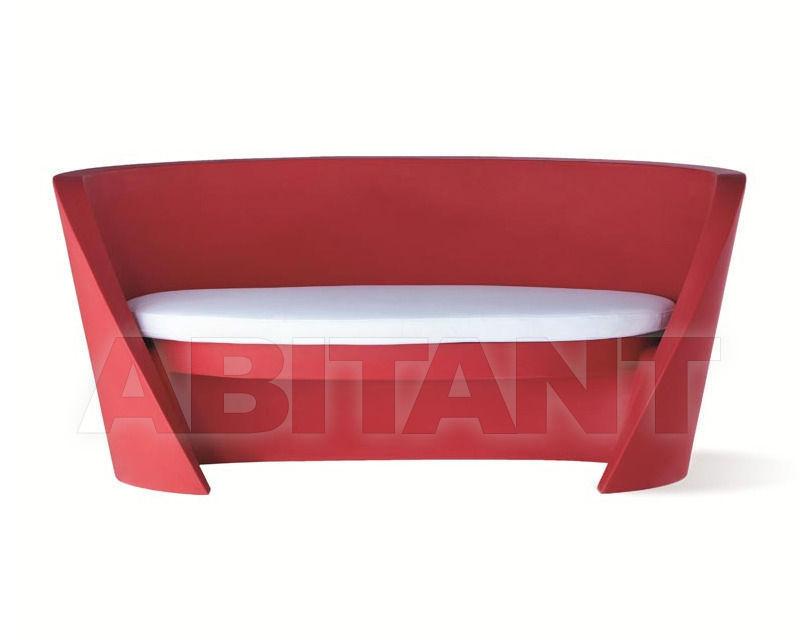 Купить Диван для террасы Slide Furniture SD RAP075+SD RAP076 red