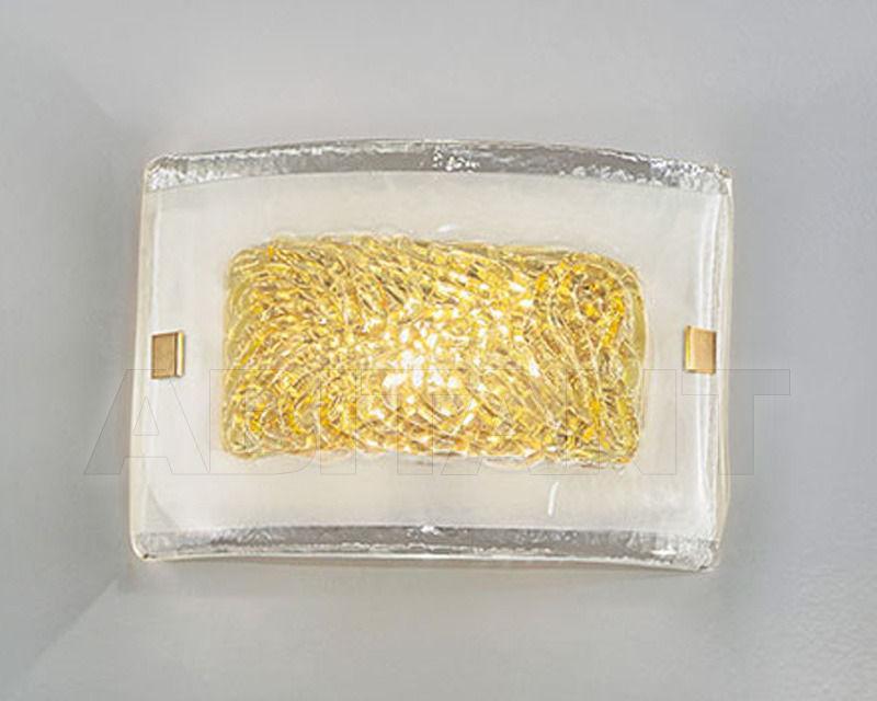 Купить Светильник настенный CAROLINA Antea Luce Generale Collection 5614.20 DOR.- AMBRA