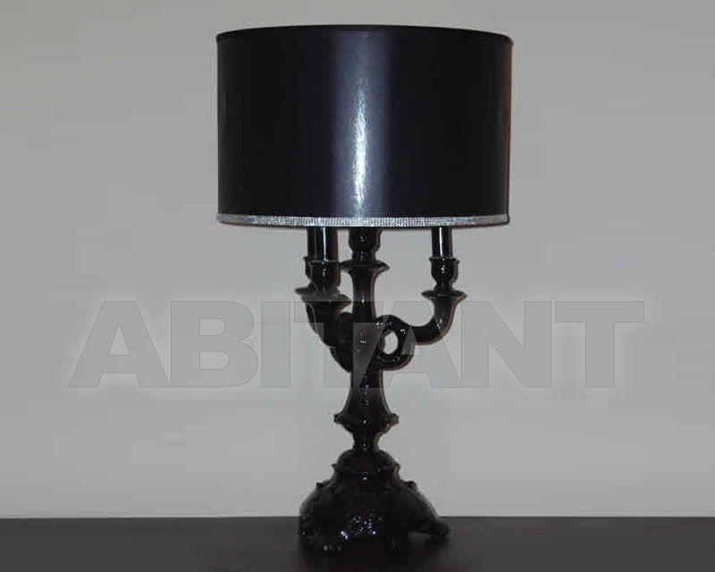 Купить Лампа настольная Razzetti Errepi di R. Razzetti Bernini LA/134 NERO