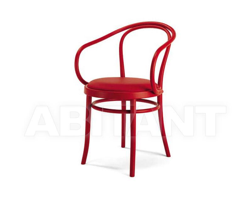 Купить Стул с подлокотниками Italcomma Complementi D'arredo S.R.L  Sedie Storiche 22 B 9 CU red