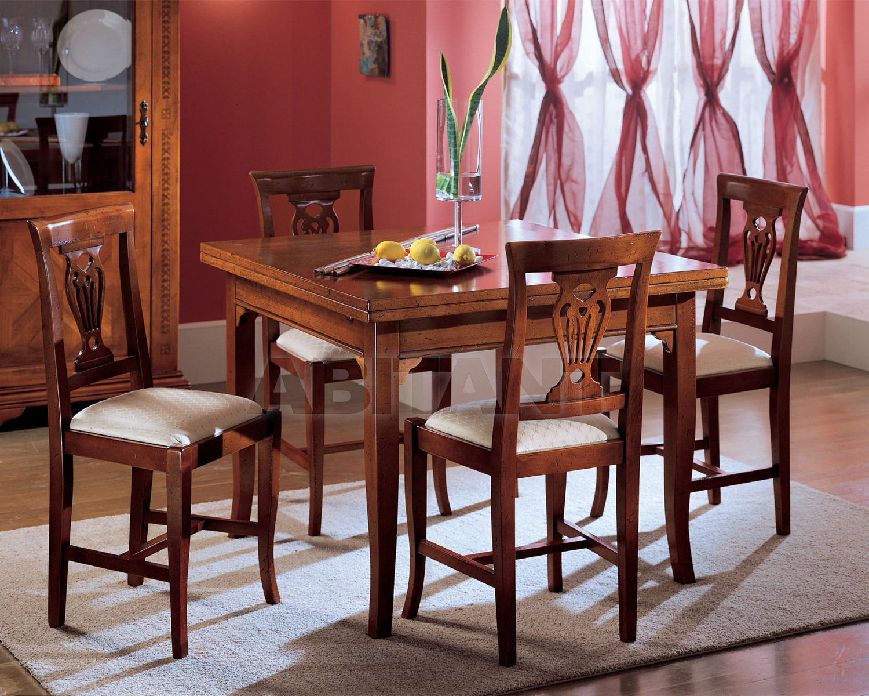 Купить Стол обеденный ABC mobili in stile Botticelli TA 1005/Q/OA
