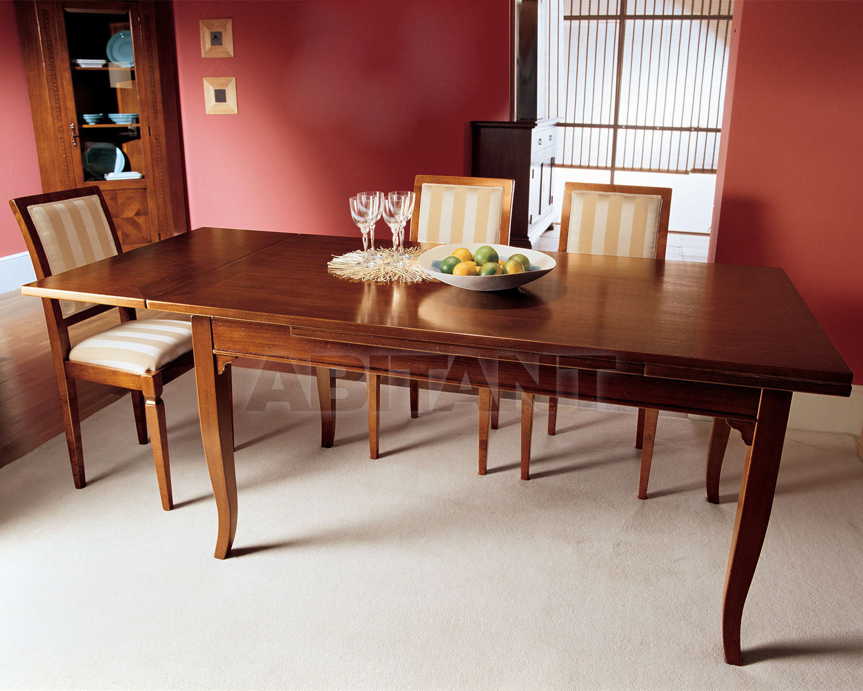 Купить Стол обеденный ABC mobili in stile Botticelli TA 1005/R/OA