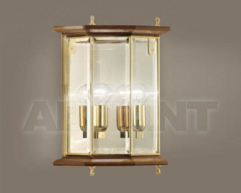 Купить Светильник настенный Cremasco Illuminazione snc Il Rilegato 1807/2AP-LN.cm